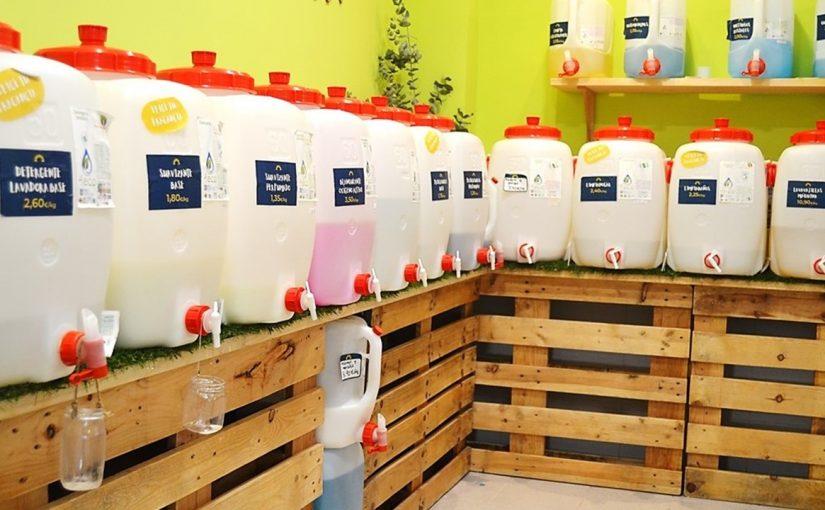 Detergentes a granel en La Ecologita